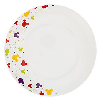 Disneyland Paris Mickey Color Large Plate