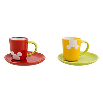 Disneyland Paris Mickey Color Coffee Set