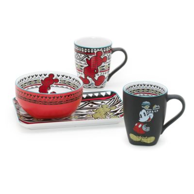 Disneyland Paris - Micky Maus Tribal Collection Becher matt