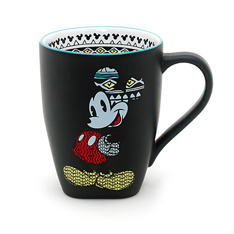 Mickey Mouse Matte Mug, Disneyland Paris Tribal Collection