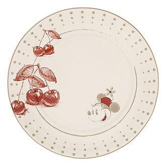 Disneyland Paris Minnie Mouse & Cherries Small Plate