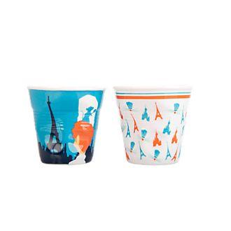 Disneyland Paris x Revol Coffee Crumpled Porcelain Espresso Cups, Set of 2
