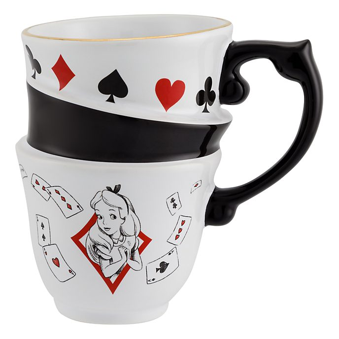 Disneyland Paris Alice in Wonderland Stacked Mug