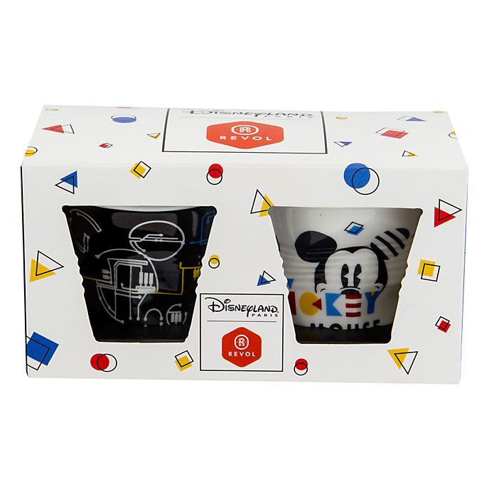Disneyland Paris x Revol Lot de 2tasses à espresso