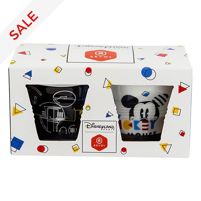 Disneyland Paris x Revol Mickey Mouse Espresso Cups, Set of 2