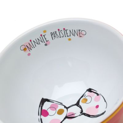 Minnie Mouse Parisienne Bowl Disneyland Paris