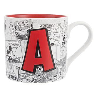 Mug Alphabet Lettre A Disneyland Paris