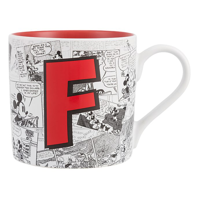 Mug Alphabet Lettre F Disneyland Paris