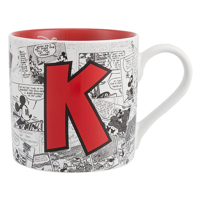 Mug Alphabet Lettre K Disneyland Paris