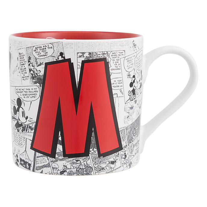 Mug Alphabet Lettre M Disneyland Paris
