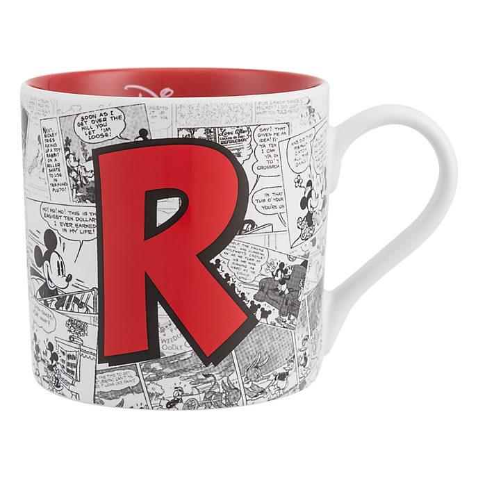 Mug Alphabet Lettre R Disneyland Paris