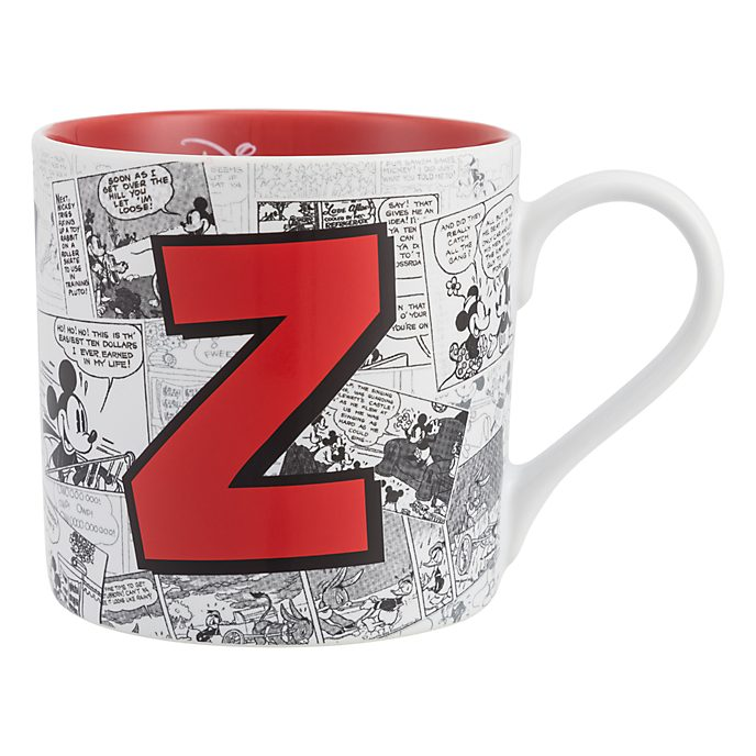 Disneyland Paris Mickey Mouse Vintage Artwork Mug - Letter Z