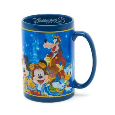 Mug 25e anniversaire de Disneyland Paris