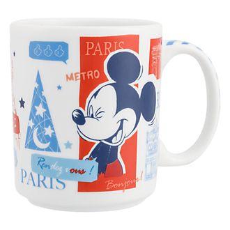 Disneyland Paris Parisian Artwork Mug