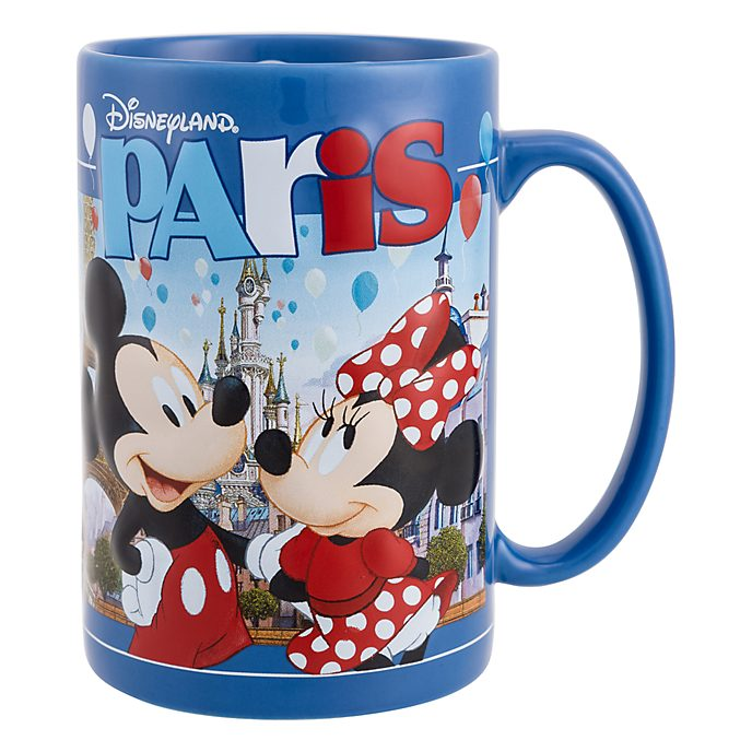Disneyland Paris Embossed Mickey & Friends Souvenir Mug