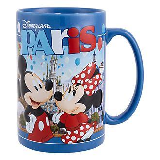 Tasse Mickey et ses amis en relief, souvenir de Disneyland Paris