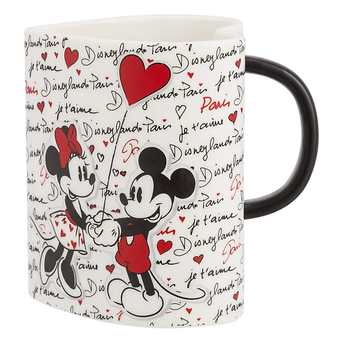 Disneyland Paris Heart-Shaped Mug