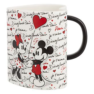 Disneyland Paris Heart-Shaped Mug