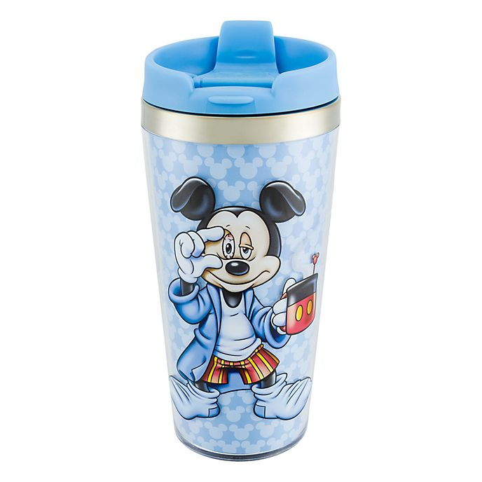 Disneyland Paris Mickey Mouse Morning Travel Mug