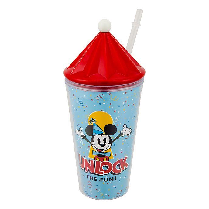 Disneyland Paris Gobelet avec paille Mickey