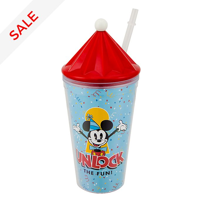 Disneyland Paris Mickey Mouse Straw Tumbler