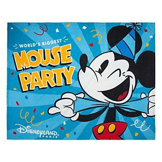 Disneyland Paris Mickey Mouse Fleece Throw