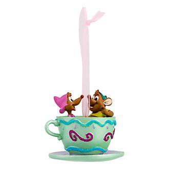 Disneyland Paris Gus and Suzy Tea Cup Hanging Ornament