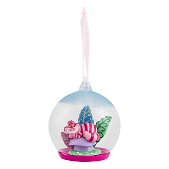 Disneyland Paris Cheshire Cat Glass Globe Bauble