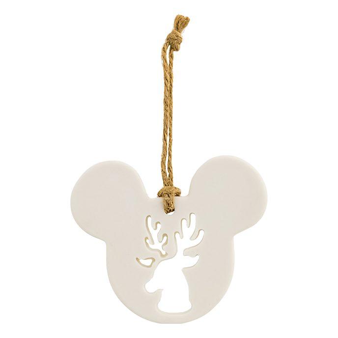 Disneyland Paris Décoration Sven façon tête de Mickey Mouse en porcelaine