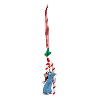 Disneyland Paris Remy Candy Cane Hanging Ornament