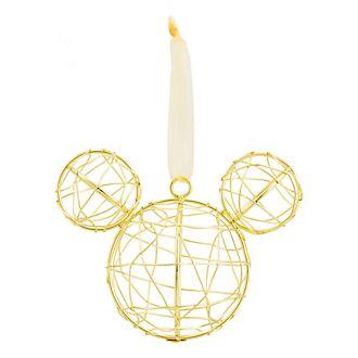 Décoration tête de Mickey en fil de fer Disneyland Paris