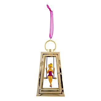 Décoration à suspendre la Fée Clochette et une lanterne Disneyland Paris