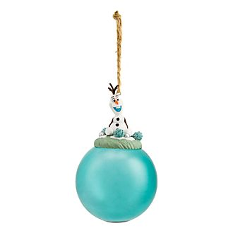 Disneyland Paris Olaf Glass Bauble