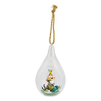 Disneyland Paris Thumper Glass Bauble