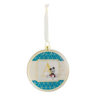 Disneyland Paris Hanging Ornament - Letter A