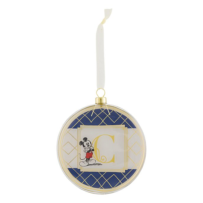 Disneyland Paris Hanging Ornament - Letter C
