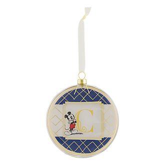 Disneyland Paris Hanging Ornament - Letter C