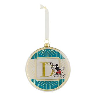 Disneyland Paris Hanging Ornament - Letter D