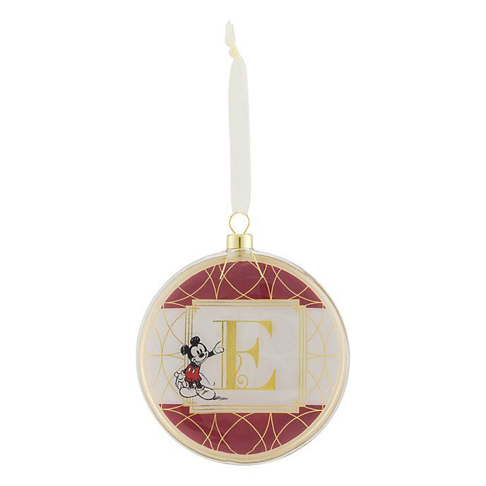 Disneyland Paris Hanging Ornament - Letter E