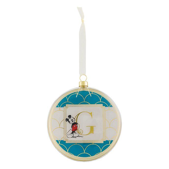 Disneyland Paris Hanging Ornament - Letter G