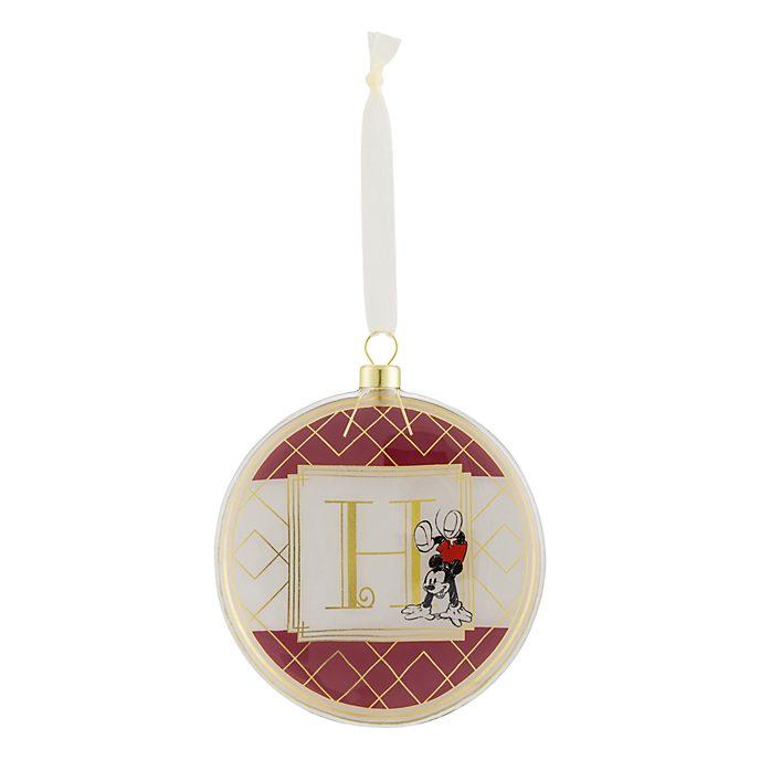 Disneyland Paris Hanging Ornament - Letter H