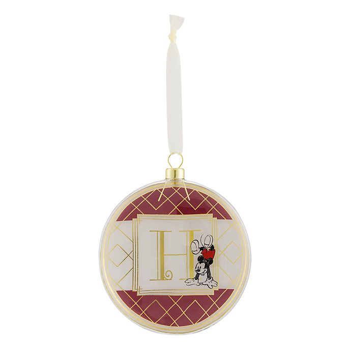 Disneyland Paris Hanging Ornament - Letter H
