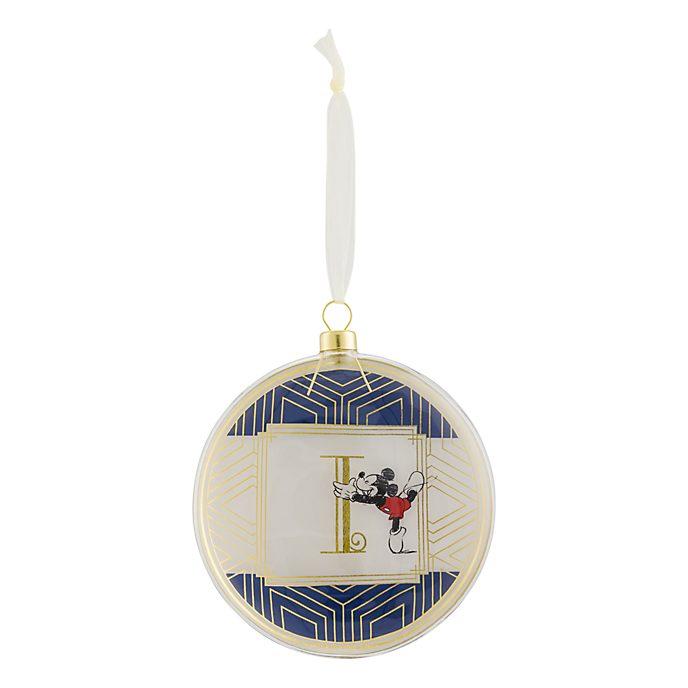Disneyland Paris Hanging Ornament - Letter I