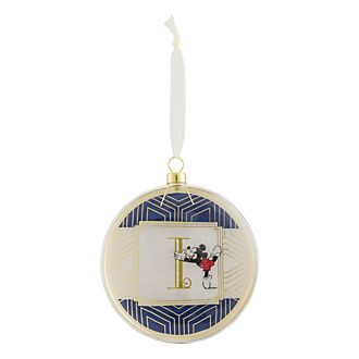 Disneyland Paris Hanging Ornament - Letter I