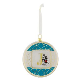 Disneyland Paris Hanging Ornament - Letter J