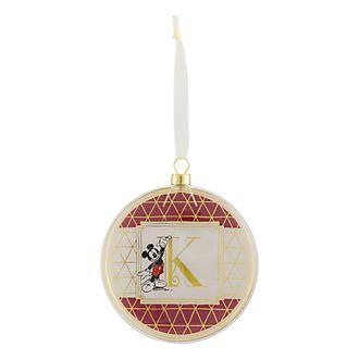 Disneyland Paris Hanging Ornament - Letter K