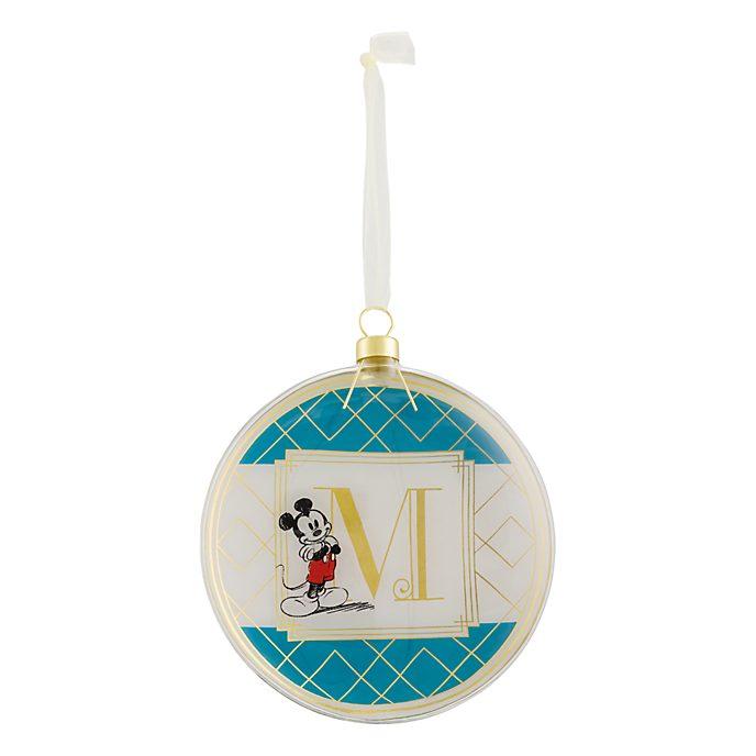 Disneyland Paris Hanging Ornament - Letter M