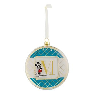 Disneyland Paris Hanging Ornament - Letter M