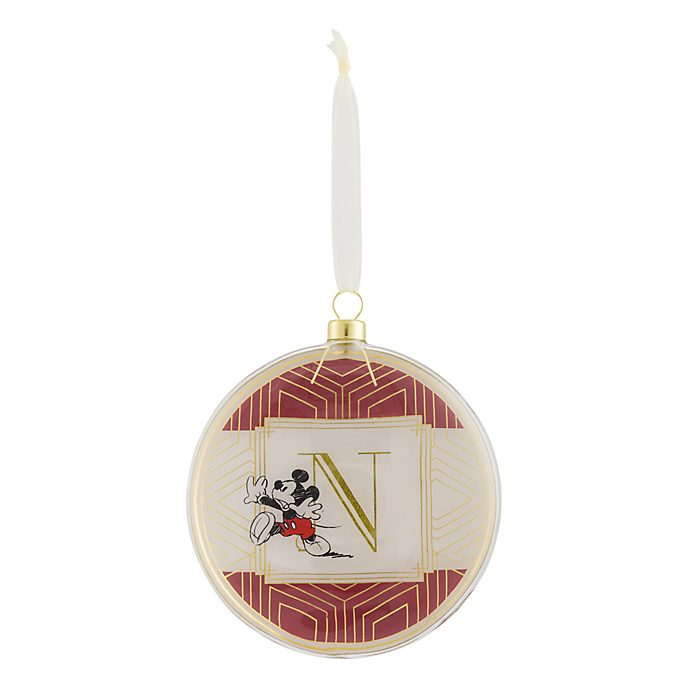 Disneyland Paris Hanging Ornament - Letter N