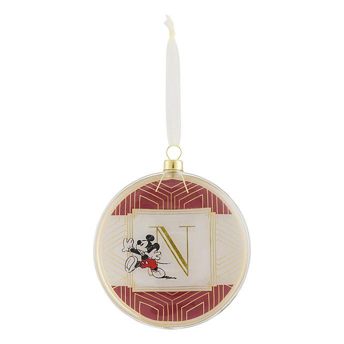 Disneyland Paris Hanging Ornament - Letter N